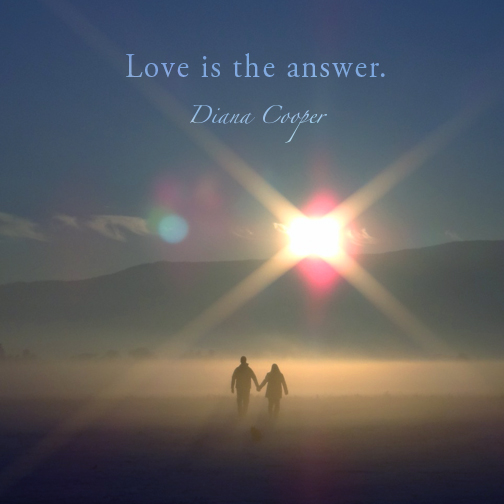DC Quote 11_Dec 15 doc. Love is the answer