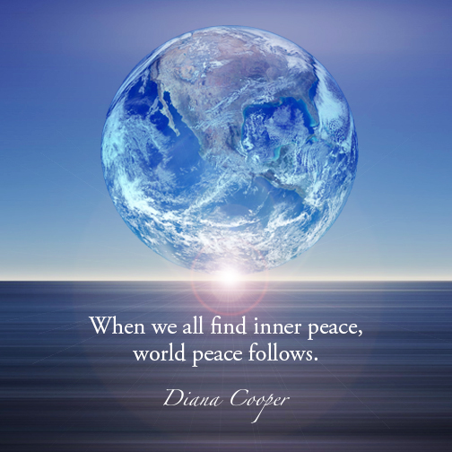 DC Quote 27_Oct 15 doc. When we all find inner peace