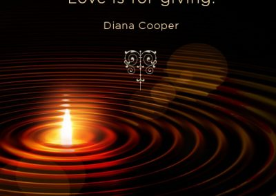 DC Quote 67_Love is for giving