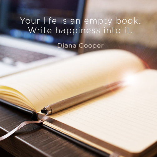 DC Quote_Your life is an empty book